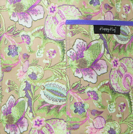 Bluză Compleu - Designer Print -  Purple Flower [3]