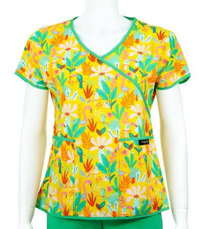 Bluză Compleu - Designer Print - Tropical [0]