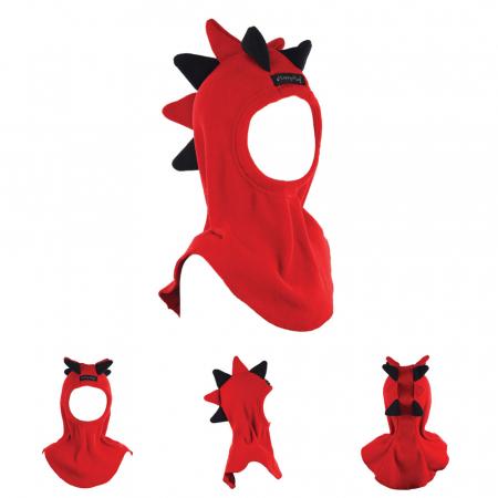 Cagulă Dino Roșu/Negru [0]