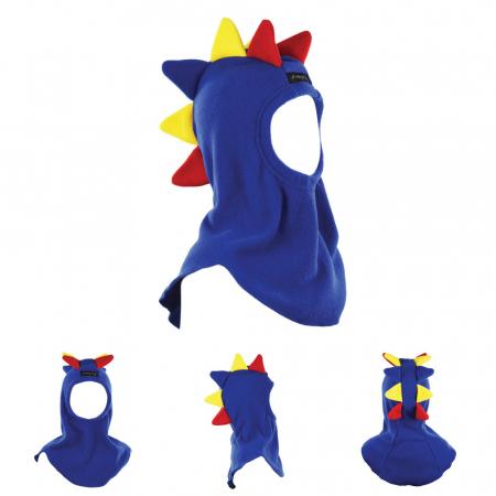 Cagulă Dino Tricolor Albastru4