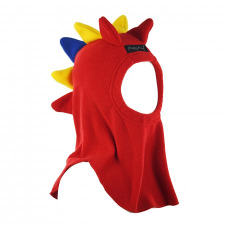 Cagulă Dino Tricolor Rosu1