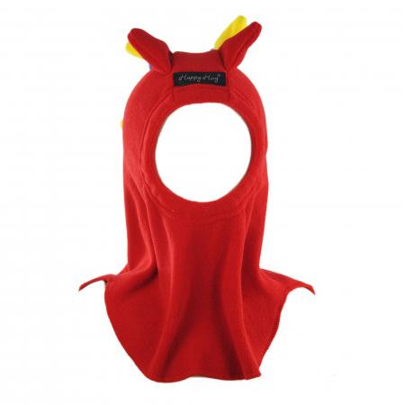 Cagulă Dino Tricolor Rosu2