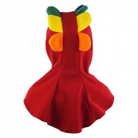 Cagulă Petale Roșu/Rainbow4