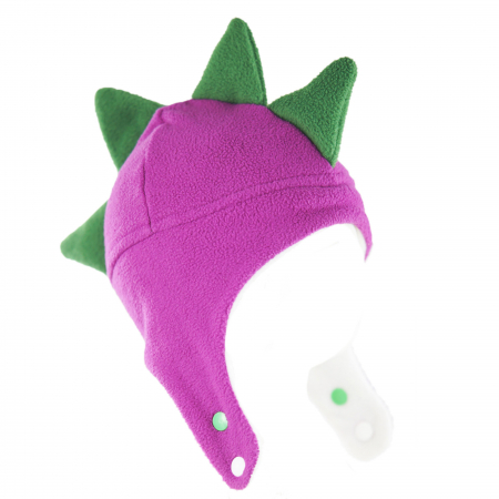 Căciulă Dino - Mov/Verde2