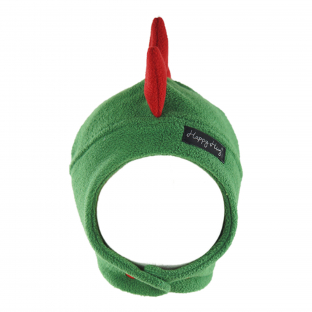 Căciulă Dino - Verde/Roșu1