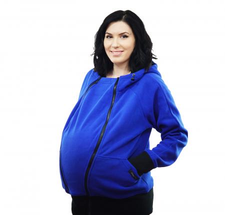 Hanorac 3 în1 Babywearing - Albastru L [3]