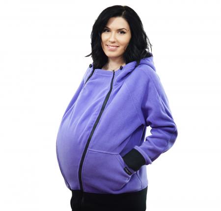 Hanorac 3 în1 Babywearing - Lila S9