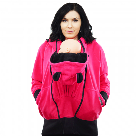 Hanorac 3 în1 Babywearing - Roz S12