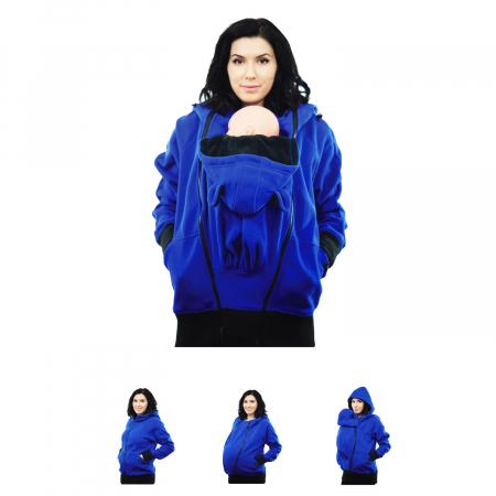 Hanorac Babywearing 3 in 1 - Albastru [0]