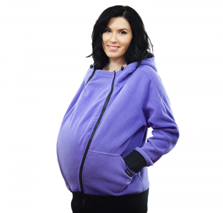 Hanorac 3 în1 Babywearing - Lila S3