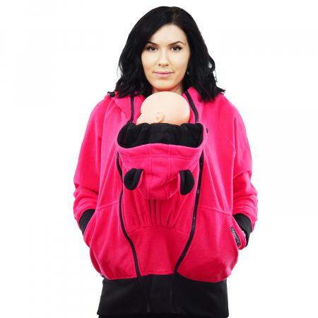 Hanorac 3 în1 Babywearing - Roz S5