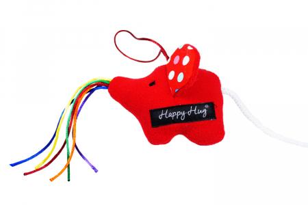Jucărie - Elefant Roșu1