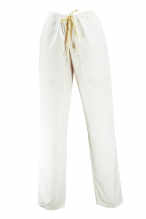 Pantalon cu Buzunare - Alb 2XL0