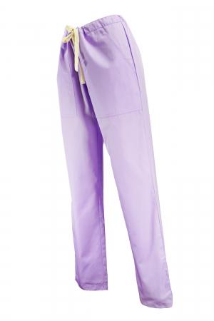 Pantalon cu Buzunare - Lila 2XL1