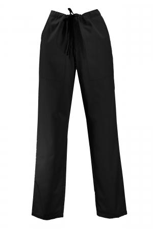 Pantalon cu Buzunare - Negru 2XL [0]