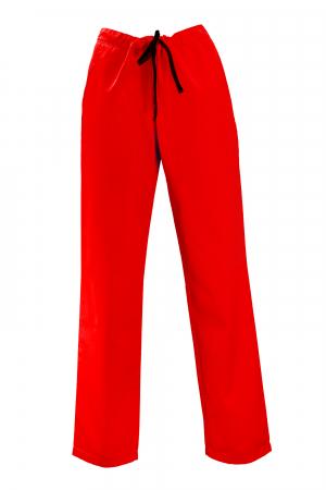 Pantalon cu Buzunare - Roșu 2XL0