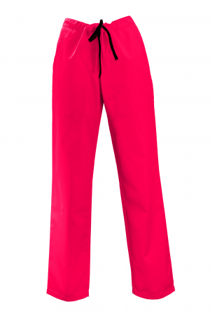Pantalon cu Buzunare - Roz 2XL [0]