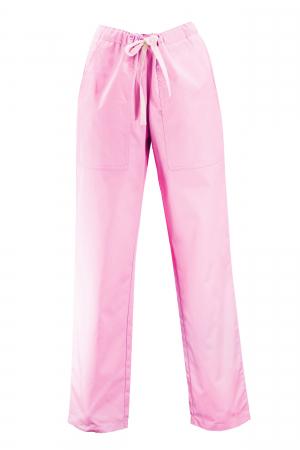 Pantalon cu Buzunare - Roz Deschis 2XL [0]