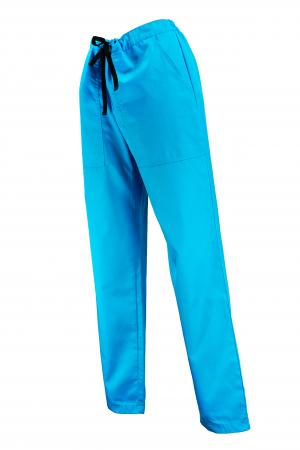 Pantalon cu Buzunare - Turcoaz 2XL [1]