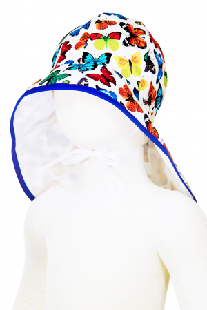 Pălărie de Soare - Fluturi Colorați0