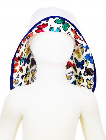 Pălărie de Soare - Fluturi Colorați3