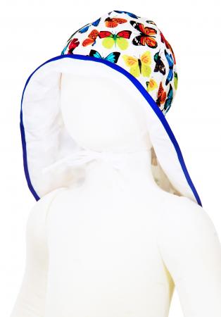 Pălărie de Soare - Fluturi Colorați1