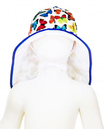 Pălărie de Soare - Fluturi Colorați2