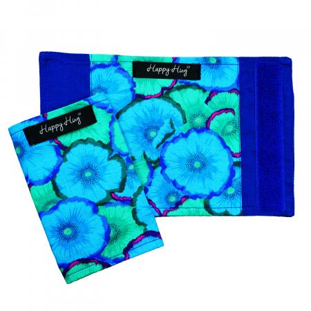 Protecții Bretele - Flori Turcoaz1