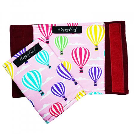 Protecții Bretele - Roz Balloons1