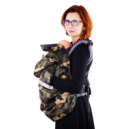 Protecție Iarnă fără Urechi - Cargo/Kaki1