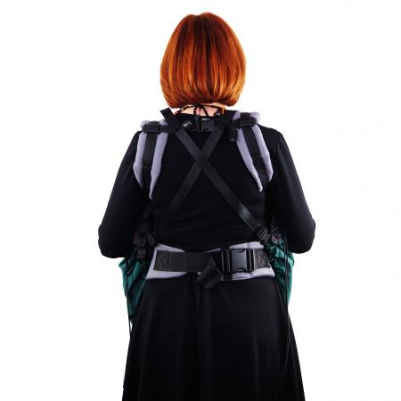 Protecție Iarnă fără Urechi - Dark Verde/Negru3