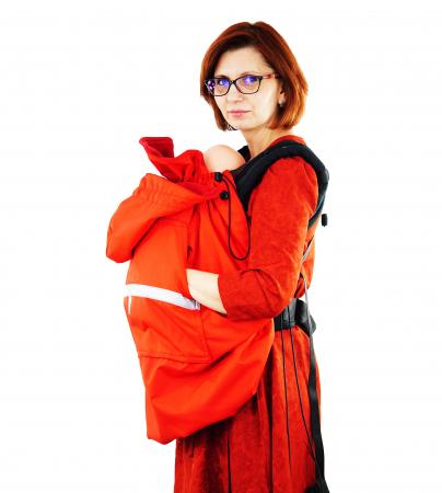 Protecție Iarnă fără Urechi - Red/Red 1