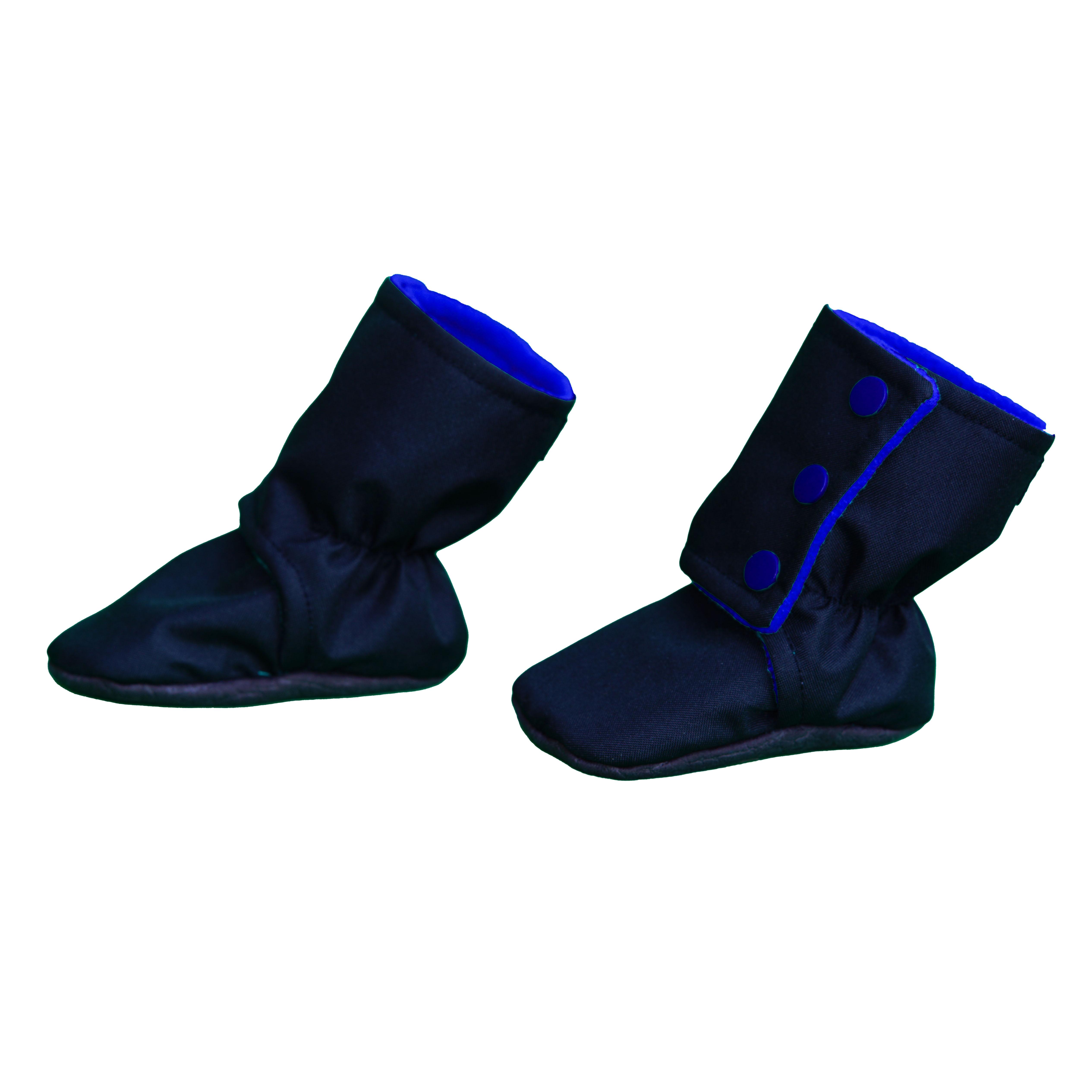 Botosei -  Negru/Albastru 3