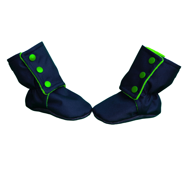 Botosei -  Negru/Verde 0