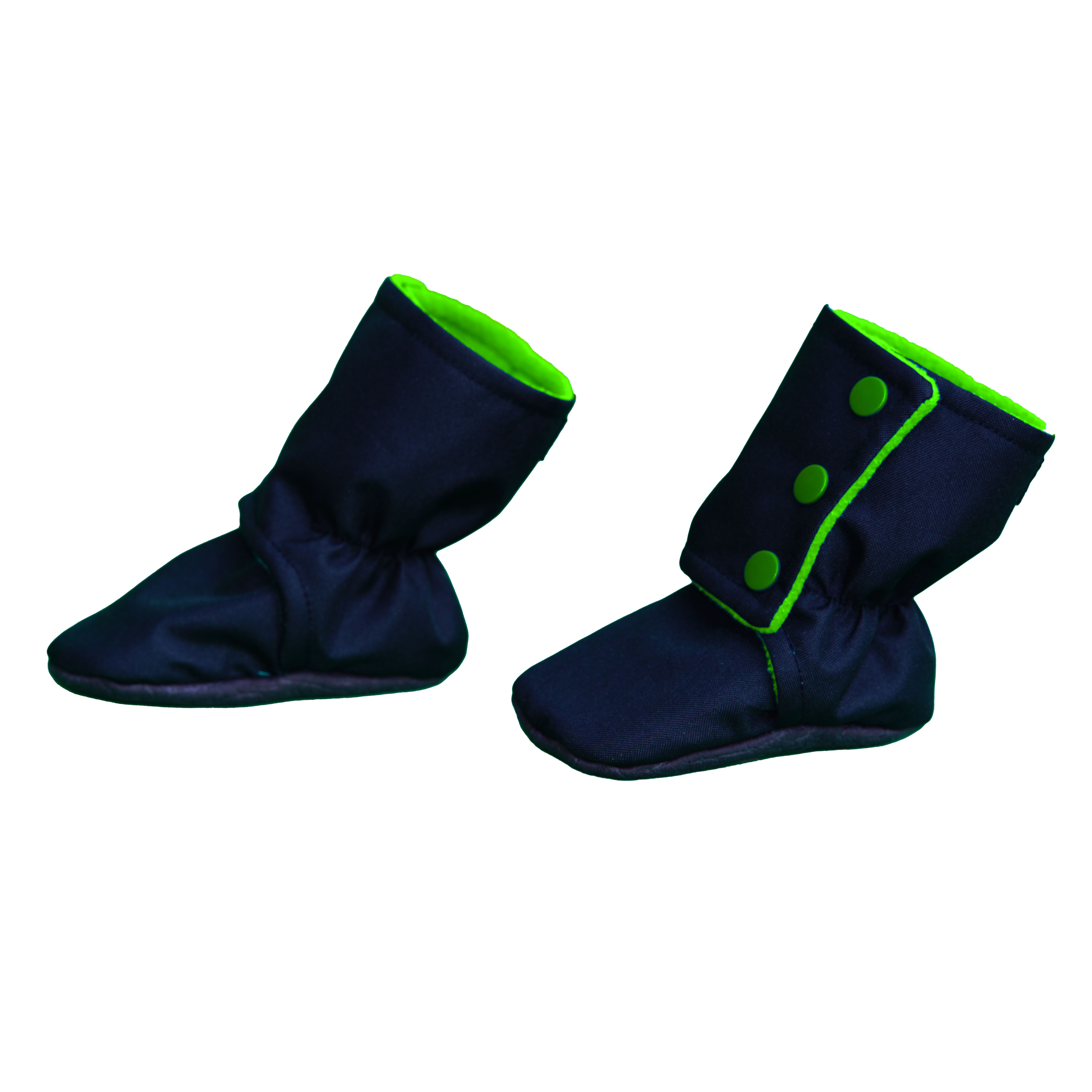 Botosei -  Negru/Verde 3