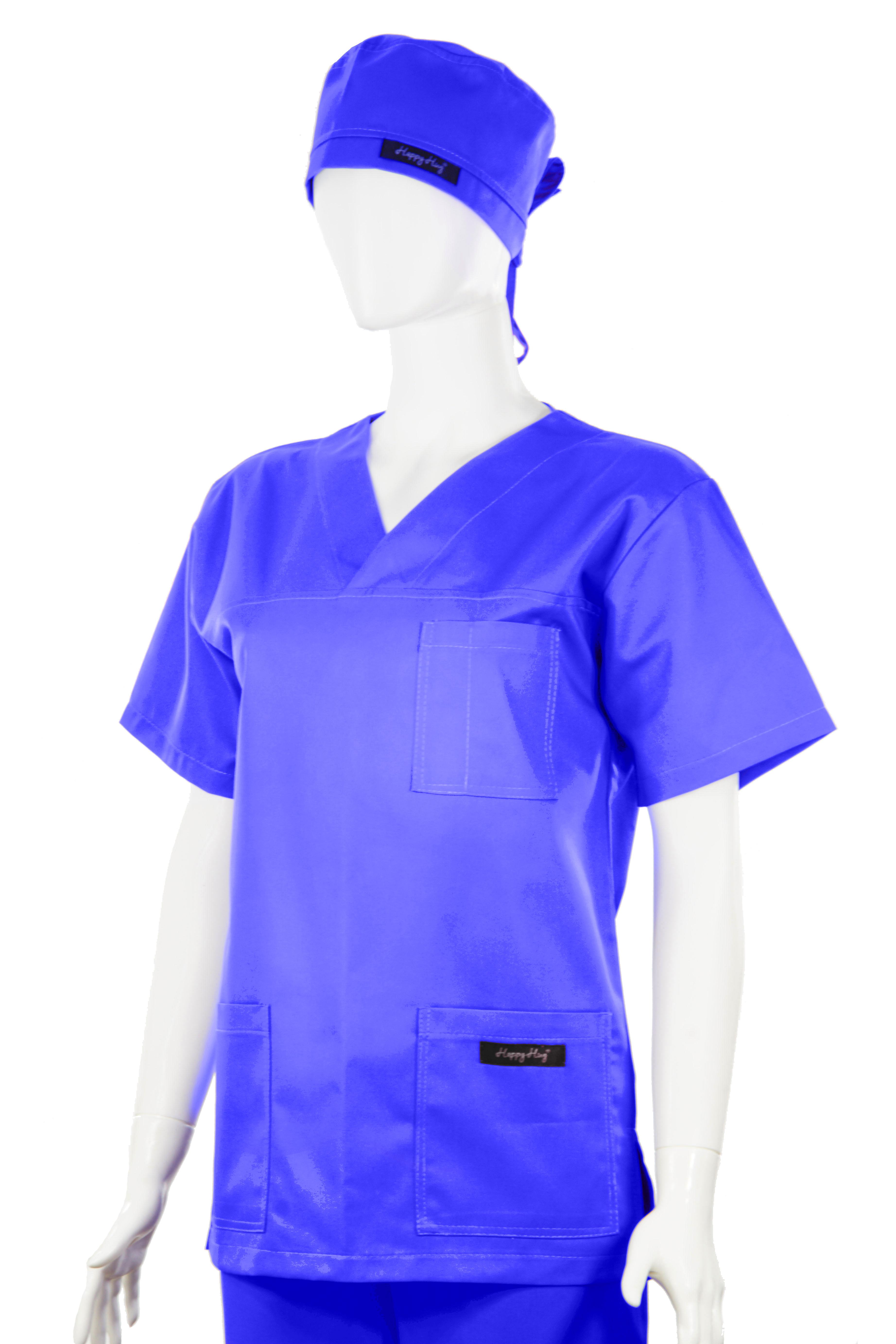 Costum Medical Unisex albastru 2XL 2XL 2