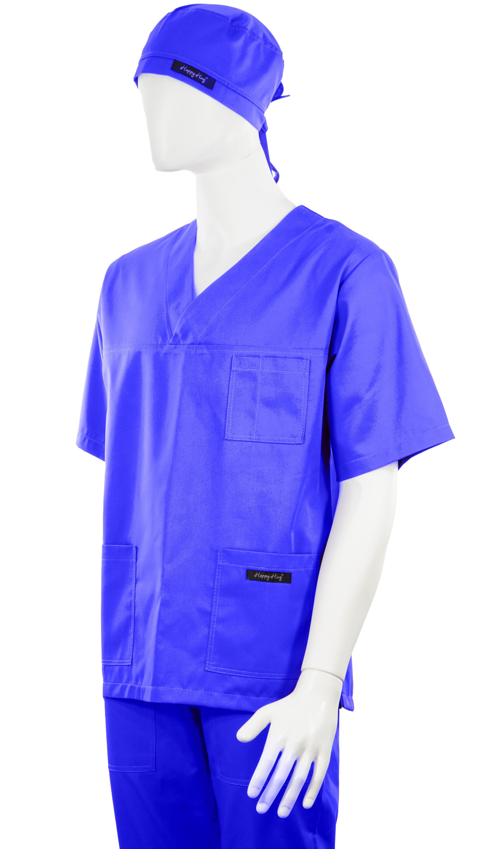 Costum Medical Unisex albastru 2XL 2XL 3