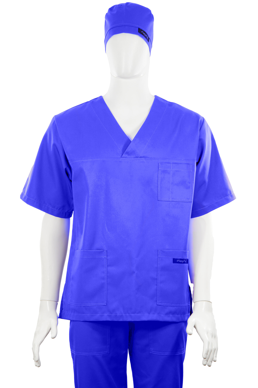 Costum Medical Unisex albastru 2XL 2XL 4