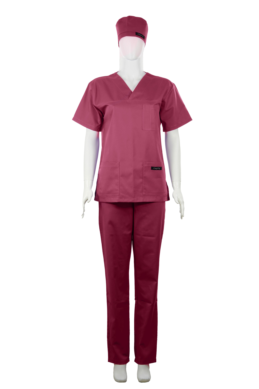 Costum Medical Unisex bordeaux 2XL 2XL [1]