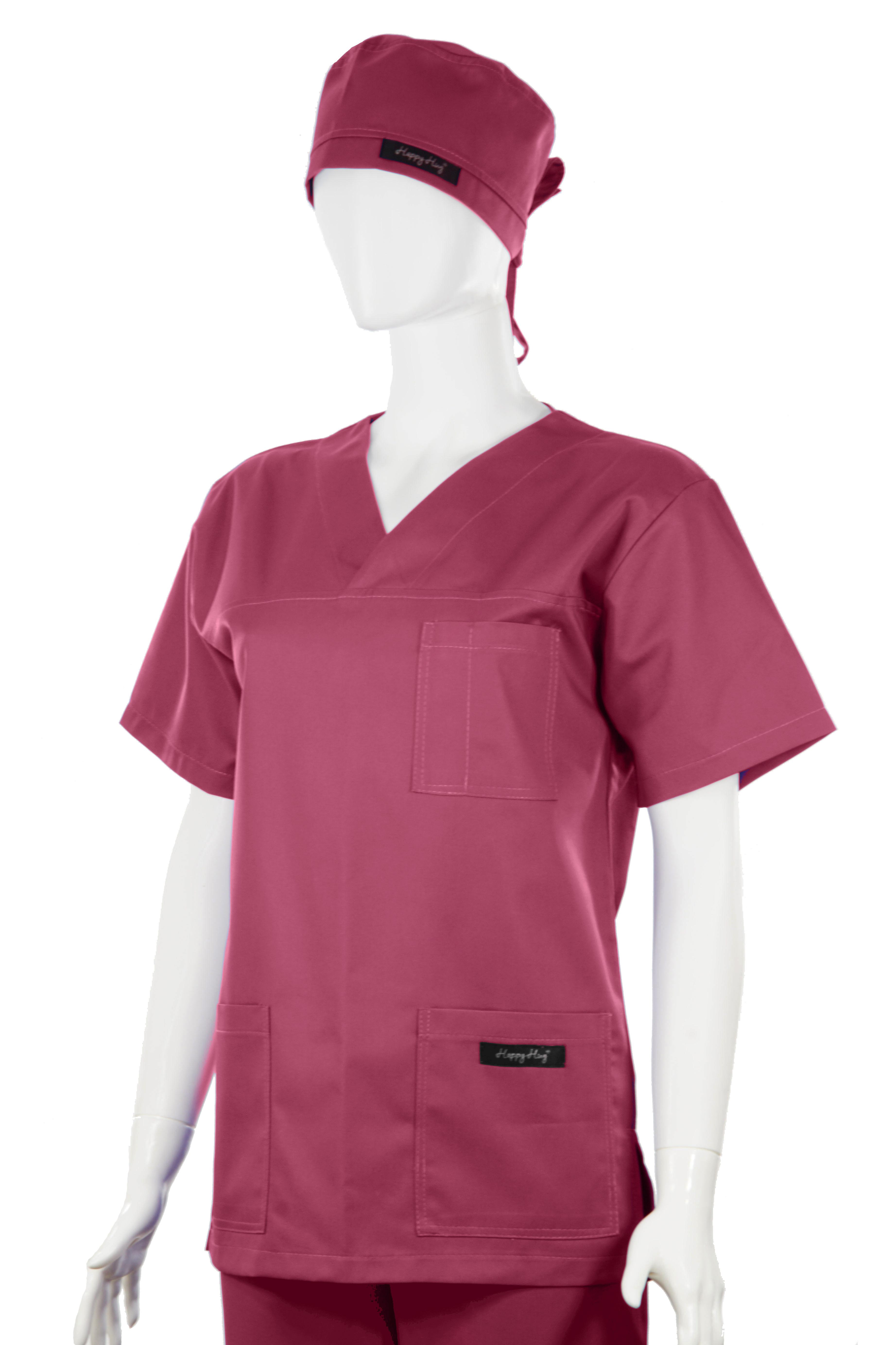 Costum Medical Unisex bordeaux 2XL 2XL [2]