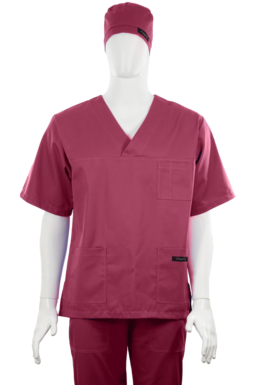Costum Medical Unisex bordeaux 2XL 2XL [4]