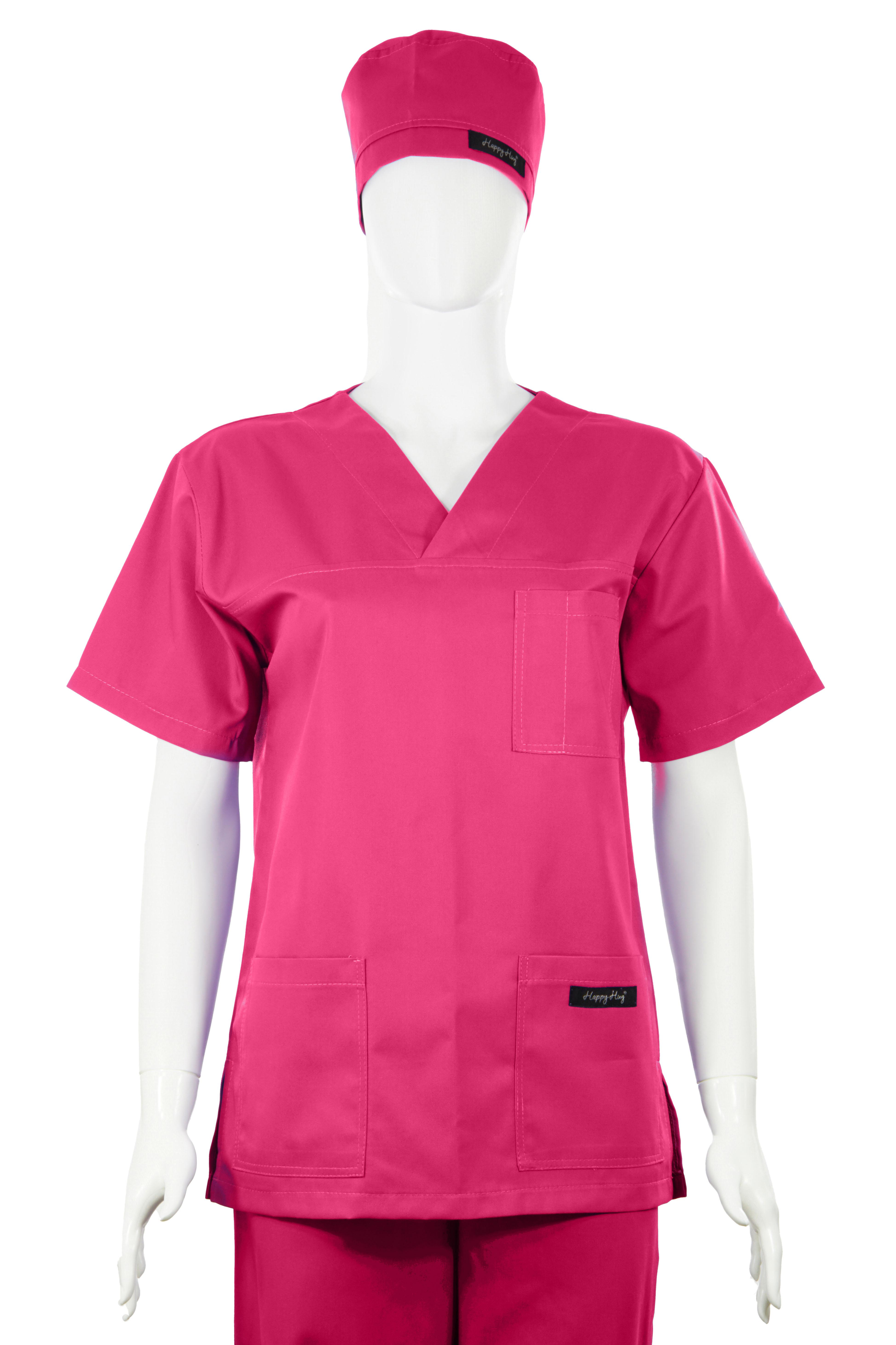 Costum Medical Unisex ciclam 2XL 2XL 0