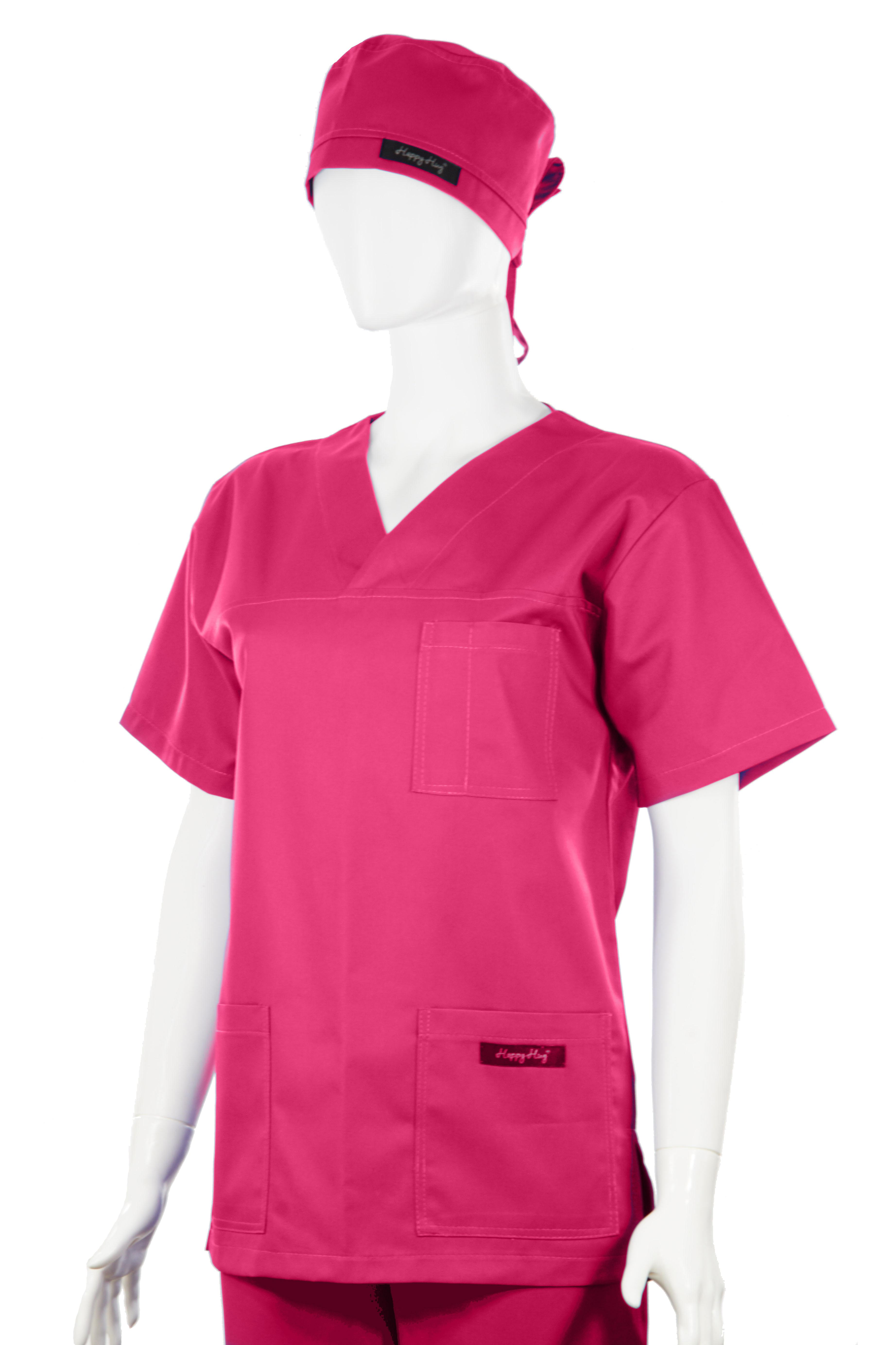Costum Medical Unisex ciclam 2XL 2XL 2