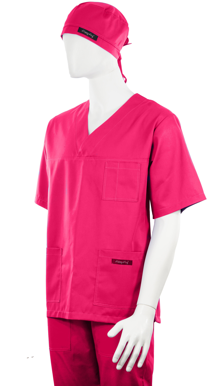 Costum Medical Unisex ciclam 2XL 2XL 3