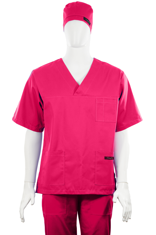 Costum Medical Unisex ciclam 2XL 2XL 4
