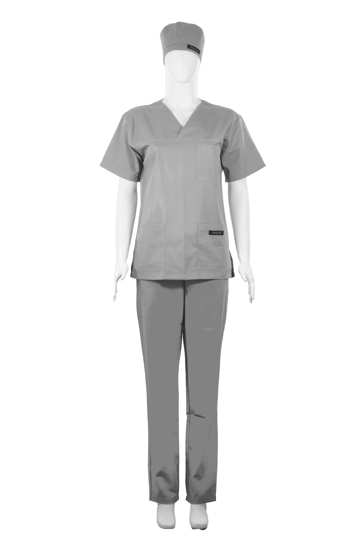 Costum Medical Unisex Gri 2XL 2XL [1]