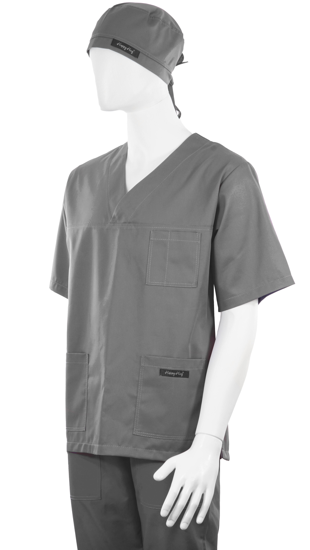 Costum Medical Unisex Gri 2XL 2XL [3]