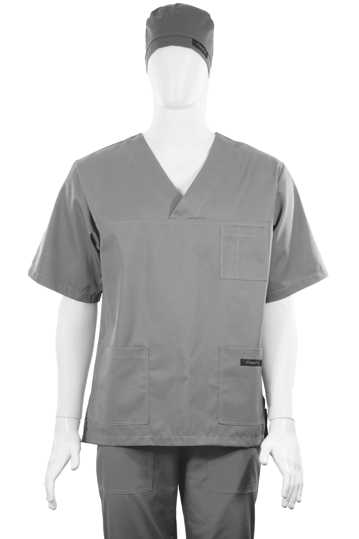 Costum Medical Unisex Gri 2XL 2XL [4]