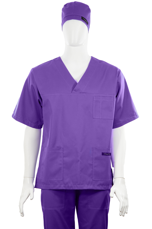 Costum Medical Unisex mov 2XL [4]
