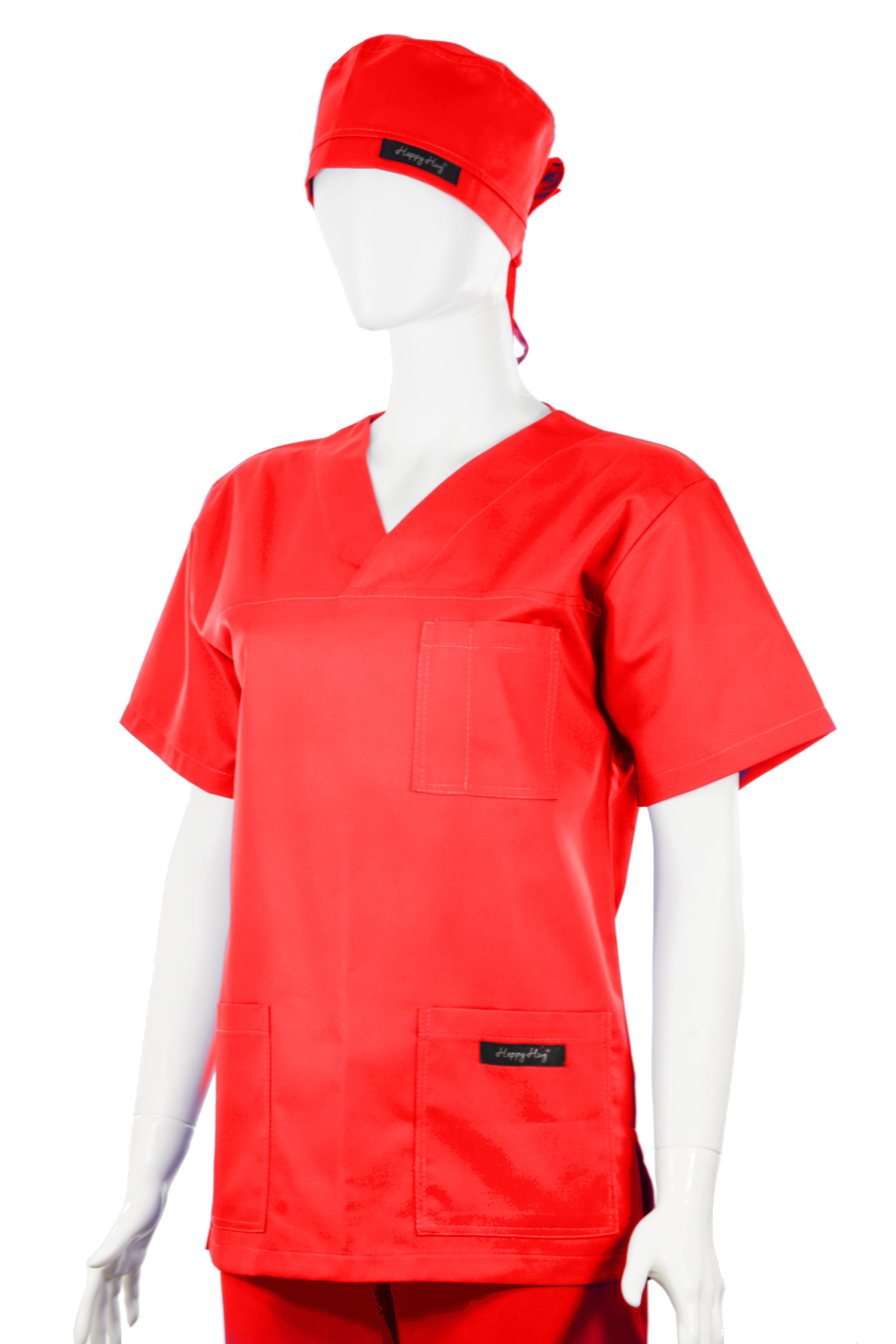 Costum Medical Unisex rosu 2XL 2XL 2